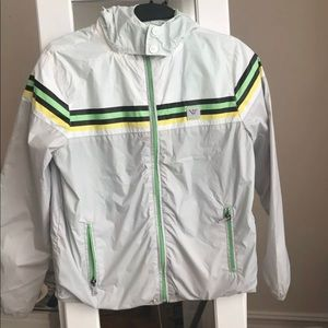 Armani Junior Boys Long Sleeve Hooded Jacket